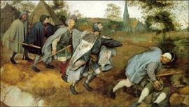 Pieter Bruegel dipinto La parabola dei ciechi